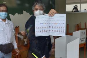 Guillermo Lasso asegura que ganará la presidencia de Ecuador en la segunda vuelta