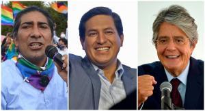 Con el 98,37 % de actas escrutadas, Yaku Pérez supera a Guillermo Lasso en votos