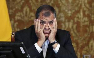 Rafael Correa dice que están ''inflando'' los votos de Yaku Pérez