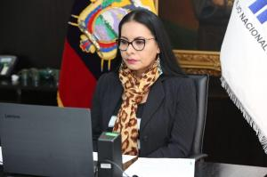 Presidenta del CNE, Diana Atamaint, avisa que no tolerará retraso en segunda vuelta