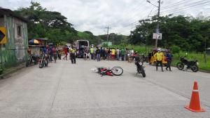 'Alfaro' fallece en choque con camión