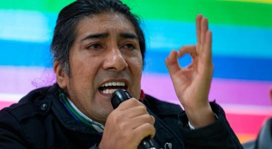 """Yaku Pérez asegura hubo """"fraude"""" en su contra en primera vuelta"""