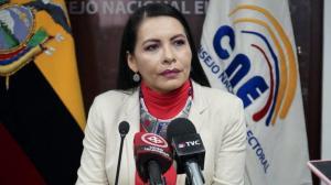 Presidenta del CNE responde a Fiscalía y Contraloría