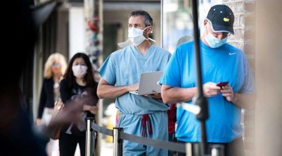 La pandemia de coronavirus deja más de 290.000 casos y 5.700 muertos en el mundo durante el último día