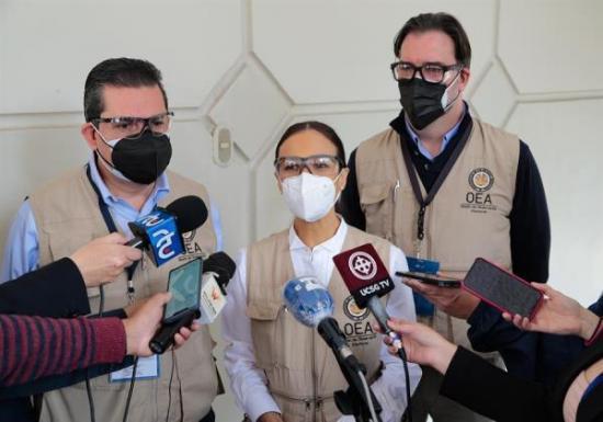 La OEA llama a las autoridades a resolver reclamaciones electorales bajo la legalidad
