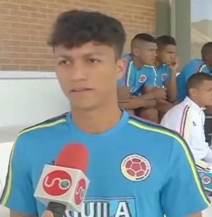 Mundialista Sub20 de Colombia se prueba en Liga de Portoviejo