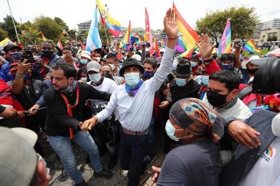 Yaku Pérez asegura que hay más de 16.000 actas con inconsistencias en Ecuador