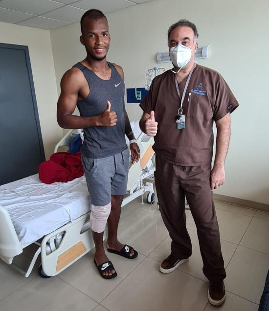 Darío Aimar estará fuera de las canchas de seis a ocho meses