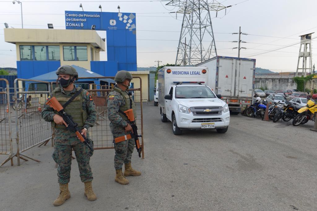 Asciende a 75 la cifra de fallecidos tras los amotinamientos en cárceles de Guayaquil, Cuenca y Latacunga
