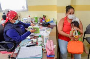 PORTOVIEJO: La vacuna pentavalente no alcanzó para todos