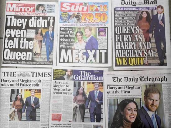 El principe Enrique se separó de la Casa Real para huir de la prensa 'tóxica'