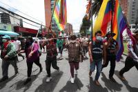 Policía dispersa manifestación indígena en Quito ante el Consejo Electoral