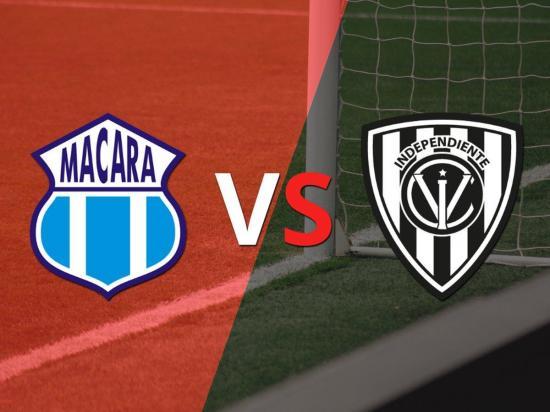 Macará e Independiente del Valle se miden hoy a las 16h30 en el estadio Bellavista de Ambato