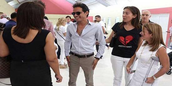 Fundación de Marc Anthony dona 1.500 kits anticovid en Puerto Rico