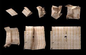 La ciencia permite leer, sin abrirla ni dañarla, una carta del siglo XVII