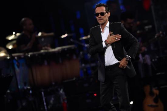 Marc Anthony invita a su primer concierto global para ''mantener la ilusión''