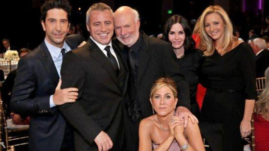 Rodaje de la reunión de 'Friends' comenzará en un mes