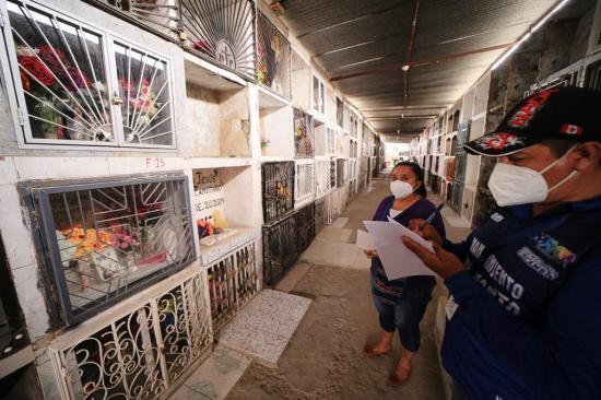 Desde el lunes se reabren las puertas del cementerio de Tarqui