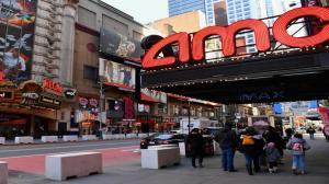 Reabren los cines de Nueva York con importantes medidas de seguridad