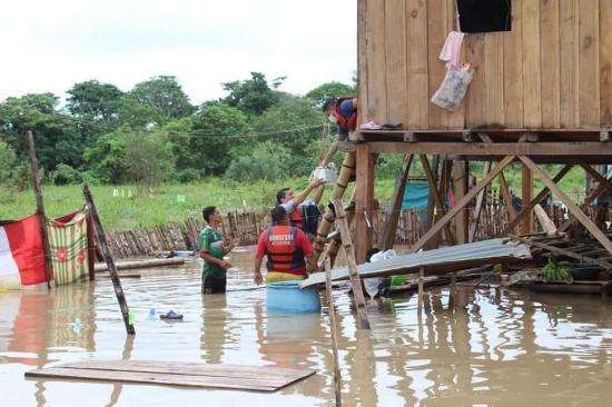 Siete provincias de Ecuador presentan inconvenientes por fuertes lluvias