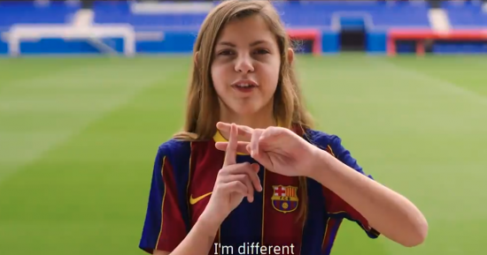 El FC Barcelona celebra el Día de la Mujer con una campaña en pro de la igualdad