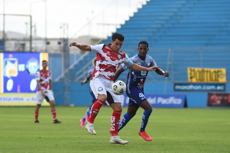 Delfín y Guayaquil City empatan 1-1