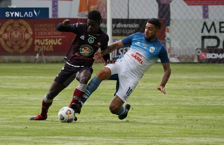 Manta pierde 4-2 en su visita a Mushuc Runa